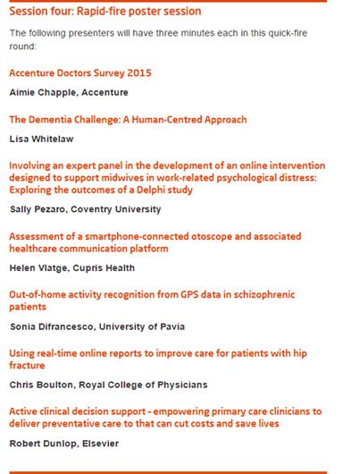 Kings fund digital health & care congress agenda