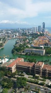 View from the World Trade Centre in Colombo
